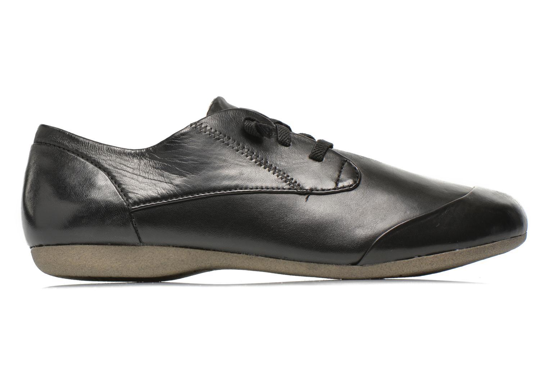 Lace-up shoes Josef Seibel Fiona 01 Black back view