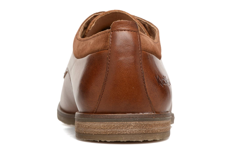 Chaussures à lacets Kickers FLAVESTON Marron vue droite
