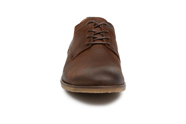 Zapatos con cordones Kickers FLAVESTON Marrón vista del modelo