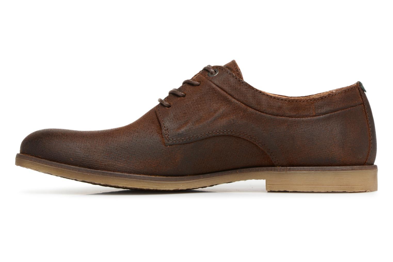 Zapatos con cordones Kickers FLAVESTON Marrón vista de frente