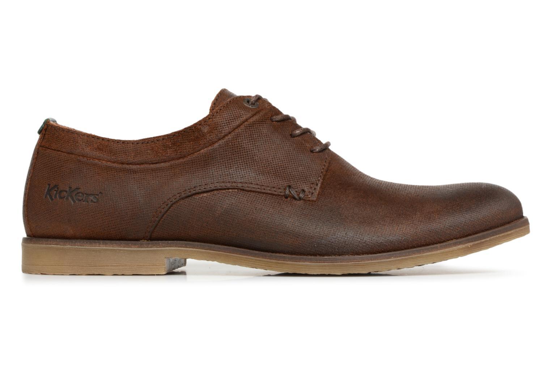 Zapatos con cordones Kickers FLAVESTON Marrón vistra trasera