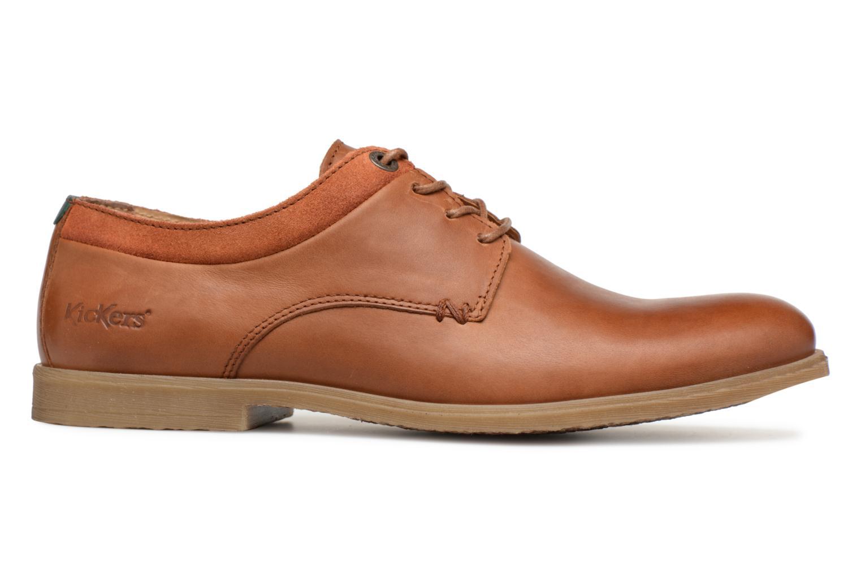 Chaussures à lacets Kickers FLAVESTON Marron vue derrière