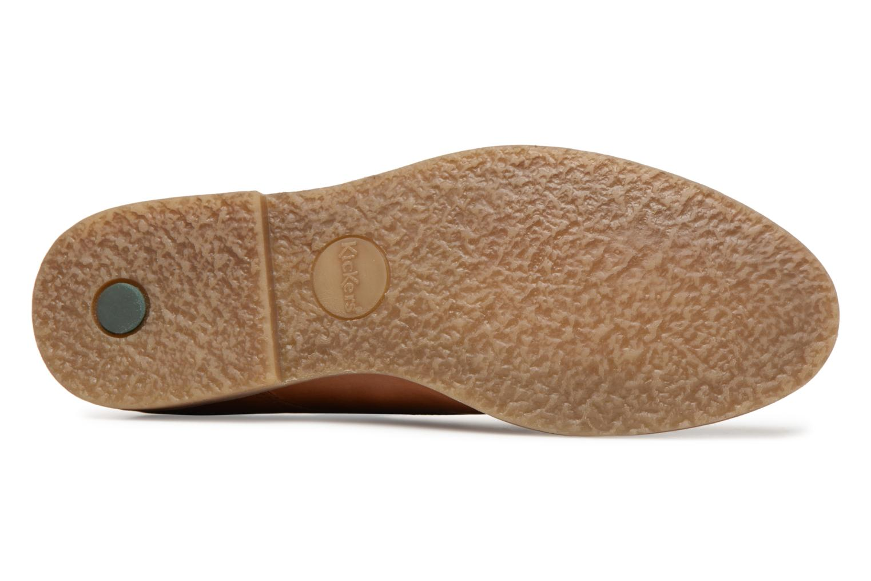 Chaussures à lacets Kickers FLAVESTON Marron vue haut