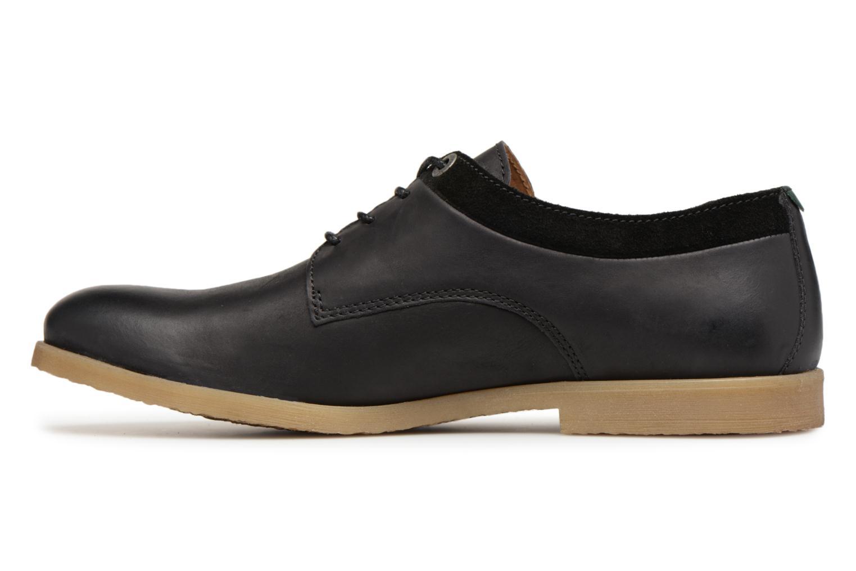 Chaussures à lacets Kickers FLAVESTON Noir vue face