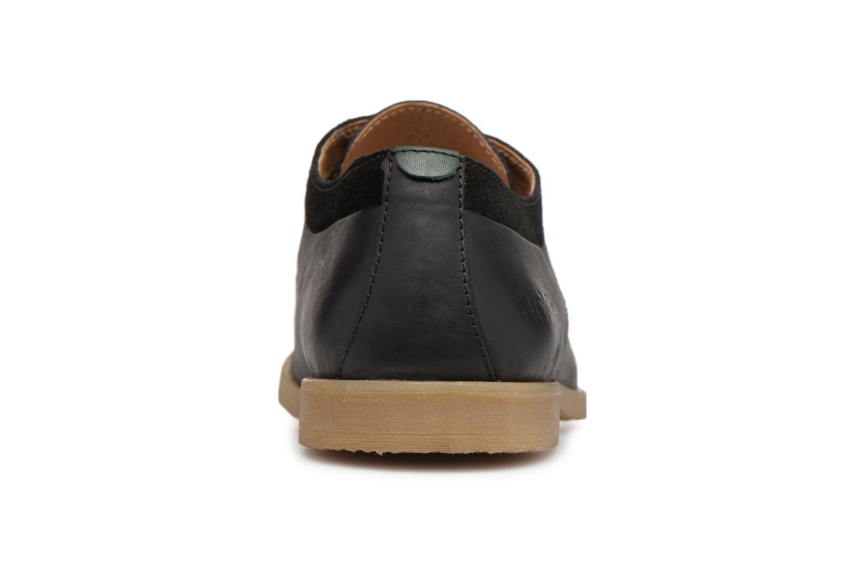 Chaussures à lacets Kickers FLAVESTON Noir vue droite