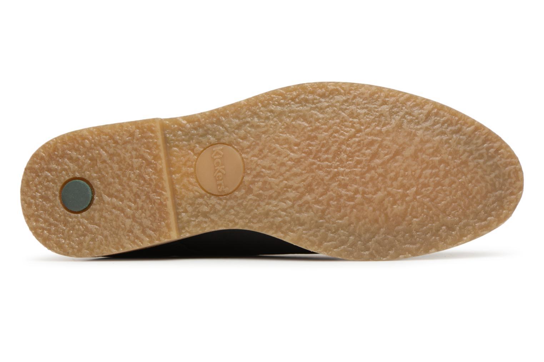 Chaussures à lacets Kickers FLAVESTON Noir vue haut