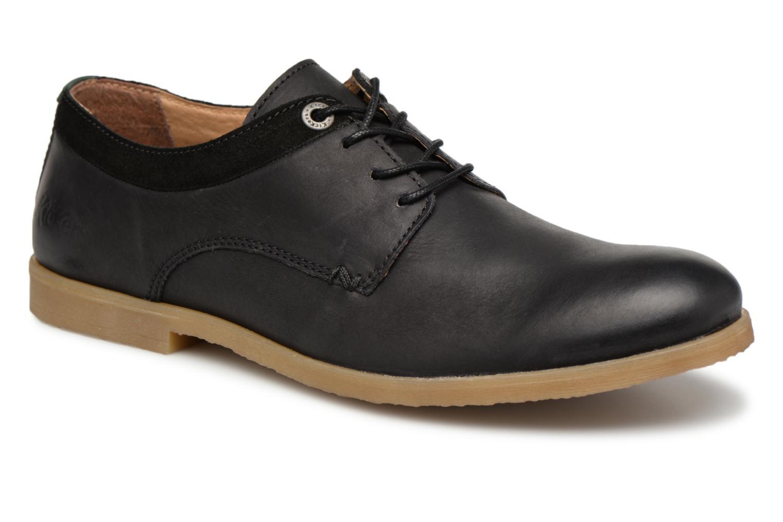 Chaussures à lacets Kickers FLAVESTON Noir vue détail/paire