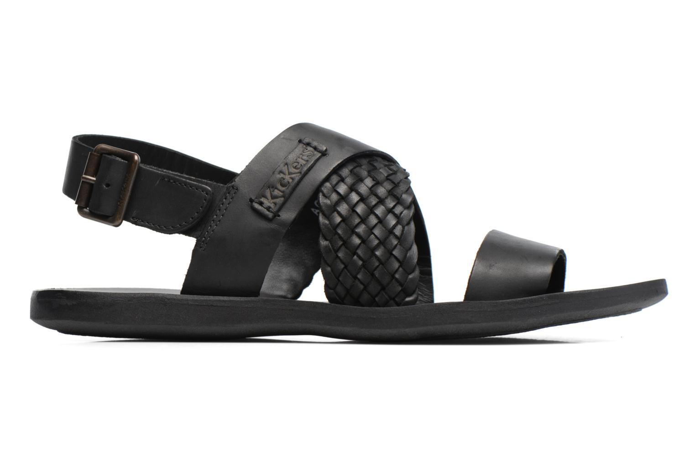 Sandalen Kickers MARVEUS schwarz ansicht von hinten