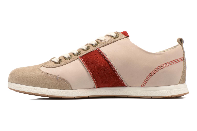 Sneaker Kickers BARBOSSA beige ansicht von vorne
