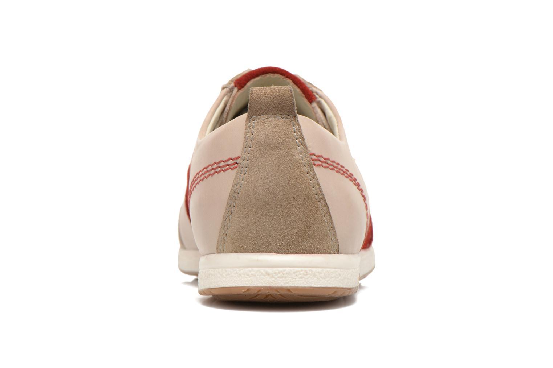 Sneaker Kickers BARBOSSA beige ansicht von rechts