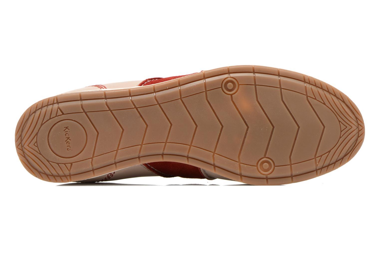 Sneaker Kickers BARBOSSA beige ansicht von oben