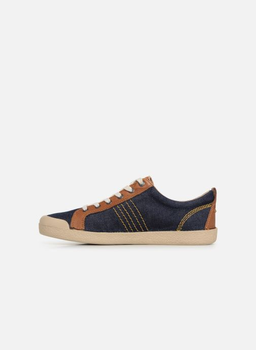Sneakers Kickers TRIDENT Azzurro immagine frontale