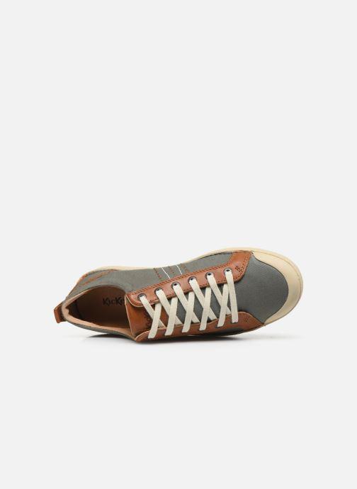 Sneaker Kickers TRIDENT grau ansicht von links