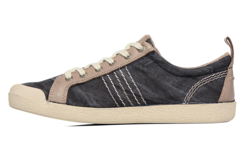 Sneakers Kickers TRIDENT Blå bild från framsidan