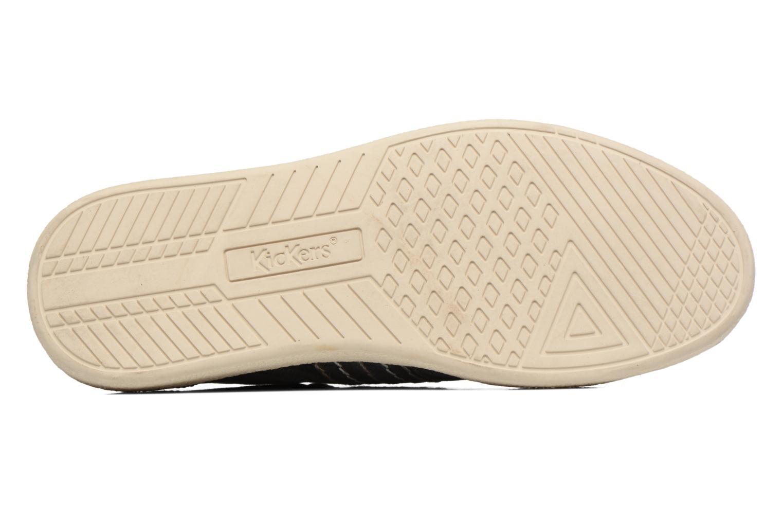 Sneaker Kickers TRIDENT blau ansicht von oben