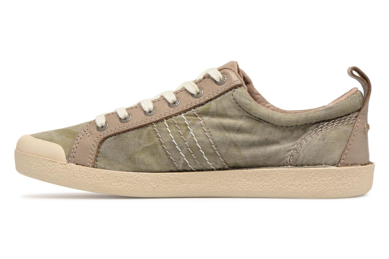 Sneaker Kickers TRIDENT grün ansicht von vorne