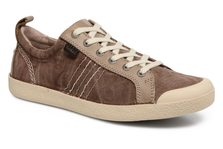 Sneaker Kickers TRIDENT braun detaillierte ansicht/modell