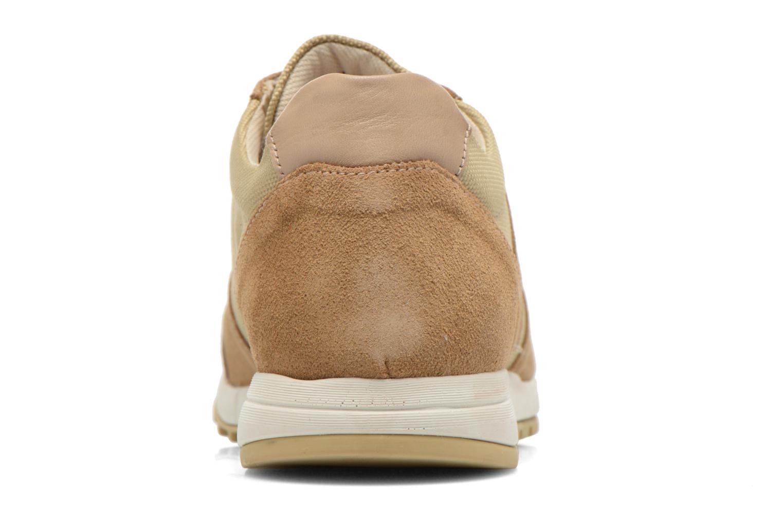 Sneakers Kickers NIELO Beige Se fra højre