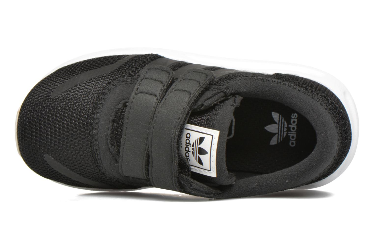 Trainers Adidas Originals Los Angeles Cf I Black view from the left
