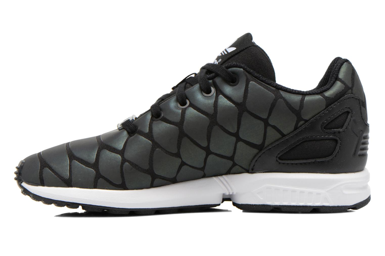 Baskets Adidas Originals Zx Flux Xenopeltis K Noir vue face