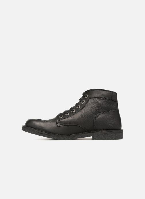 Boots en enkellaarsjes Kickers Kickstoner Zwart voorkant