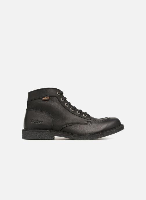 Boots en enkellaarsjes Kickers Kickstoner Zwart achterkant