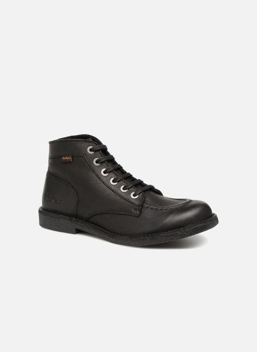 Boots en enkellaarsjes Kickers Kickstoner Zwart detail