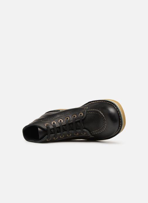 Bottines et boots Kickers Kickstoner Noir vue gauche