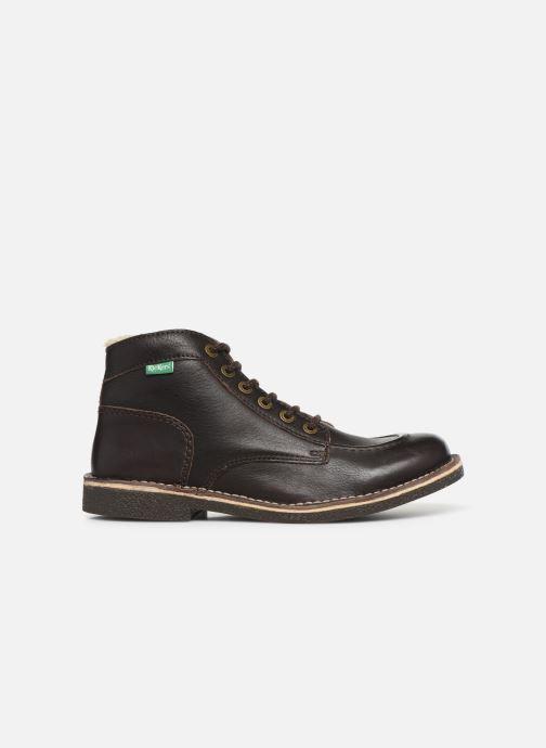 Boots en enkellaarsjes Kickers Kickstoner Bruin achterkant
