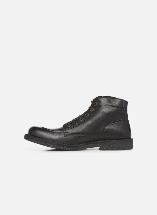 Bottines et boots Kickers Kickstoner Noir vue face