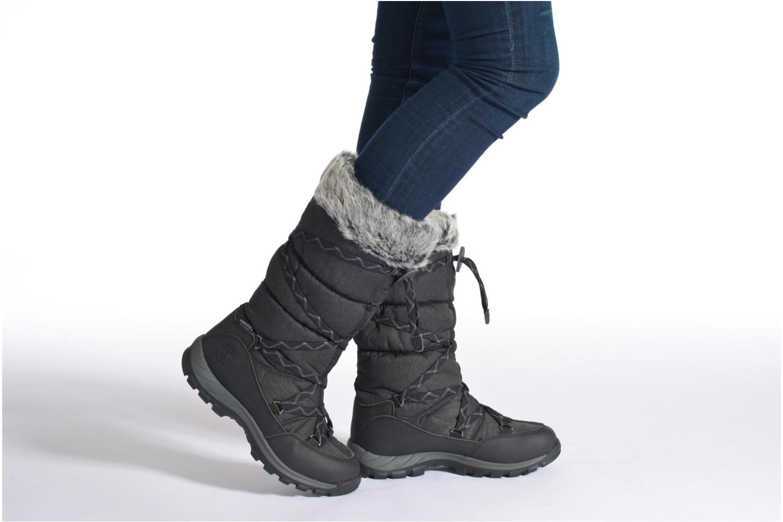 Stiefeletten & Boots Timberland Over the Chill schwarz ansicht von unten / tasche getragen