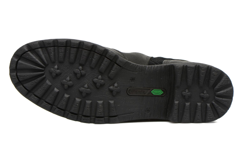 Bottines et boots Timberland Stoddard Quilted Warm Noir vue haut