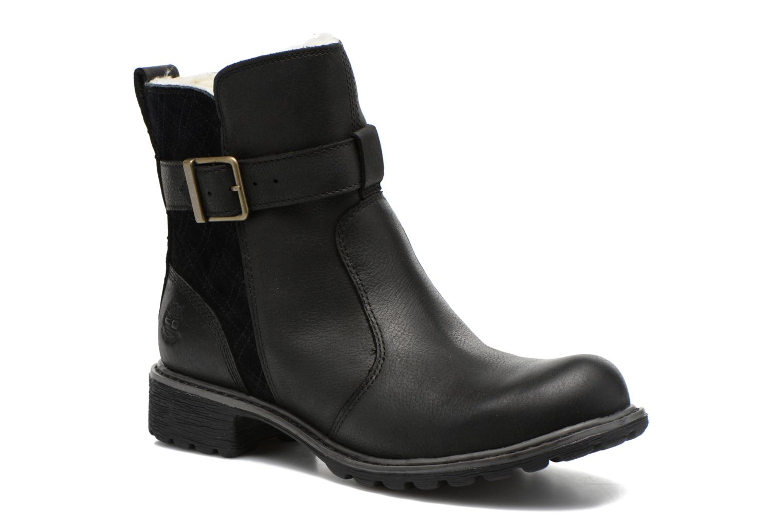 Bottines et boots Timberland Stoddard Quilted Warm Noir vue détail/paire
