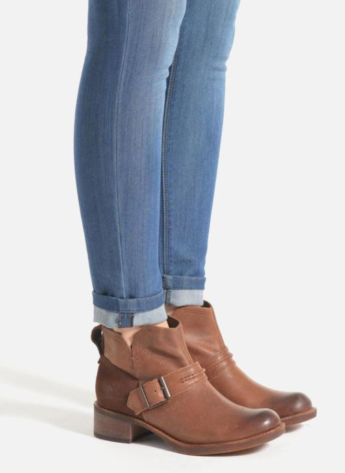 Ankle boots Timberland Whittemore Mid Lace Boot Brown view from underneath / model view