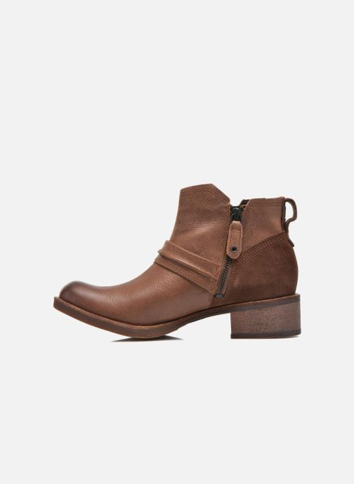 Ankle boots Timberland Whittemore Mid Lace Boot Brown front view