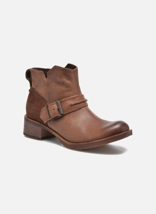 Ankle boots Timberland Whittemore Mid Lace Boot Brown detailed view/ Pair view