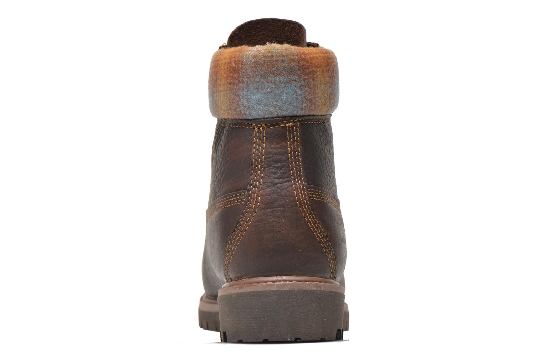 "Bottines et boots Timberland Icon 6"" Premium Boot Marron vue droite"