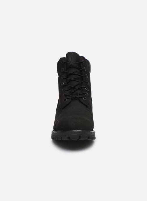 "Botines  Timberland 6"" Premium Boot Negro vista del modelo"