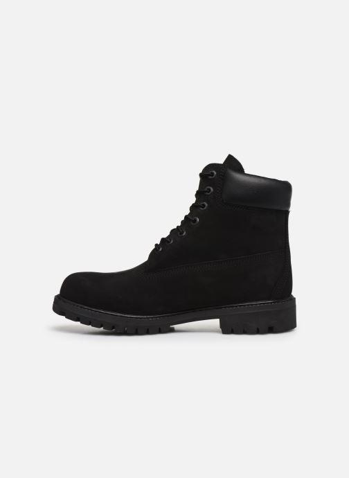 """Botines  Timberland 6"""" Premium Boot Negro vista de frente"""