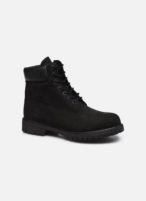 """Ankelstøvler Timberland 6"""" Premium Boot Sort detaljeret billede af skoene"""