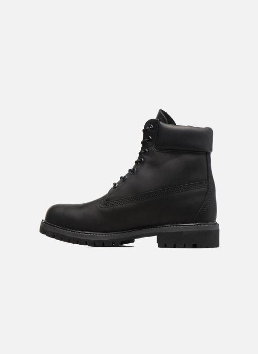 """Boots en enkellaarsjes Timberland 6"""" Premium Boot Zwart voorkant"""