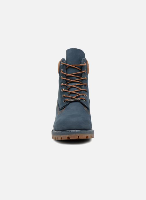 "Botines  Timberland 6"" Premium Boot Azul vista del modelo"