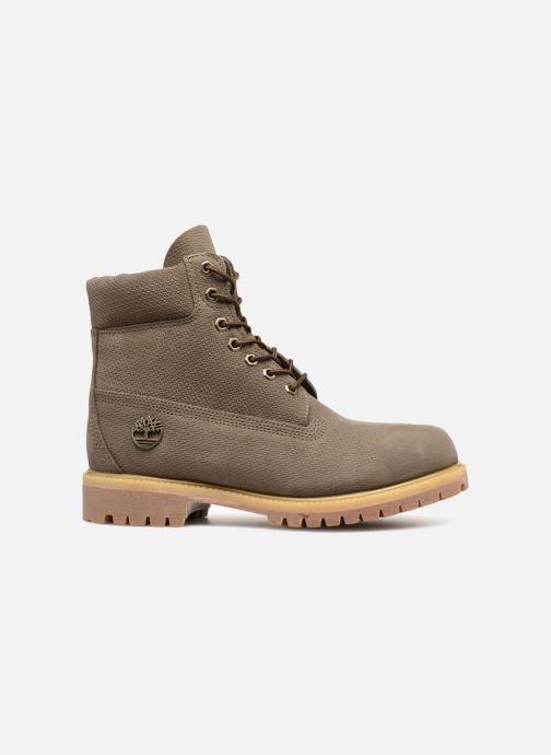 """Bottines et boots Timberland 6"""" Premium Boot Gris vue derrière"""