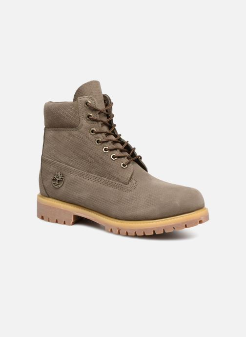"Ankle boots Timberland 6"" Premium Boot Grey detailed view/ Pair view"