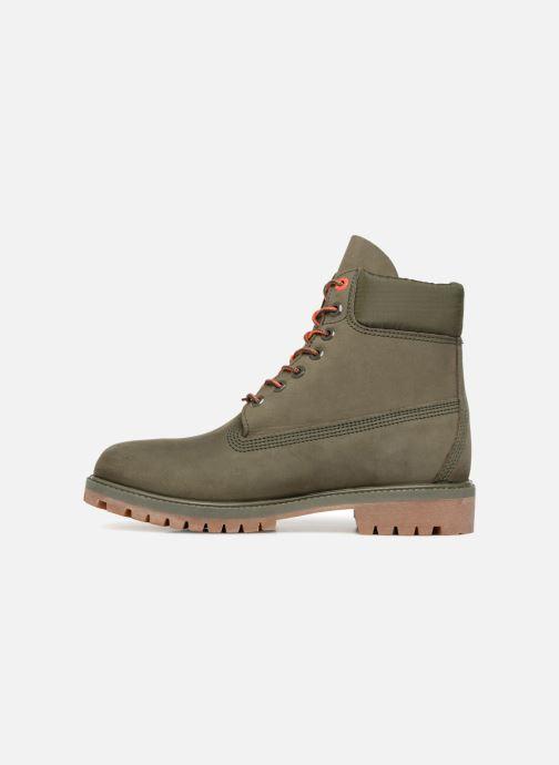 """Bottines et boots Timberland 6"""" Premium Boot Vert vue face"""