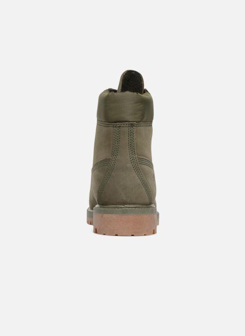 "Bottines et boots Timberland 6"" Premium Boot Vert vue droite"