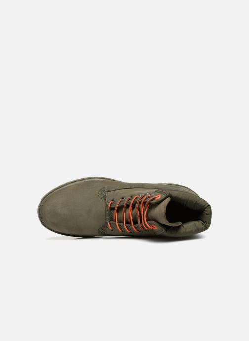 "Bottines et boots Timberland 6"" Premium Boot Vert vue gauche"