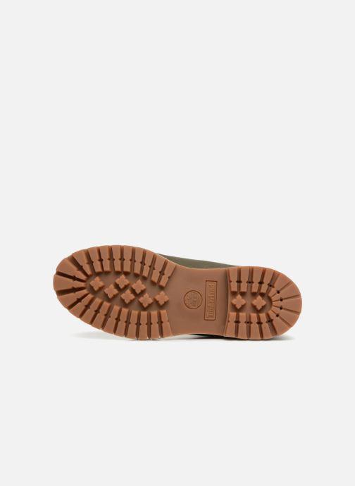 """Bottines et boots Timberland 6"""" Premium Boot Vert vue haut"""