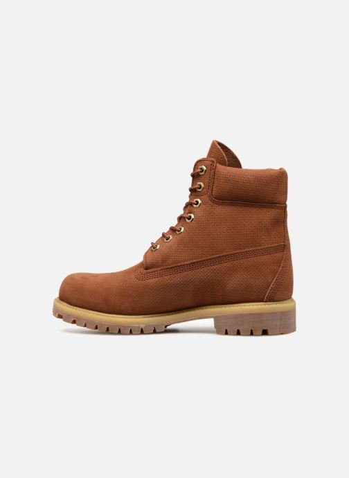 "Bottines et boots Timberland 6"" Premium Boot Marron vue face"