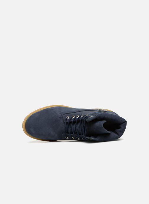 """Bottines et boots Timberland 6"""" Premium Boot Bleu vue gauche"""